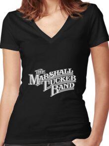 marshall tucker band logo Women's Fitted V-Neck T-Shirt