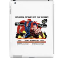 Super Doopy Dudes Election iPad Case/Skin