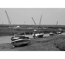 Low tide Norfolk coast Photographic Print
