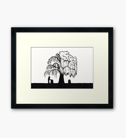 Time is the Wisest Counselor Framed Print