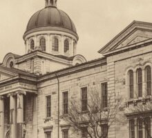 Frontenac County Court House - sepia Sticker