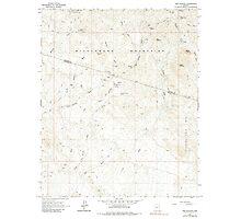 USGS TOPO Map Arizona AZ Red Picacho 313064 1964 24000 Photographic Print