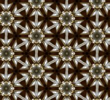 glass star graphic pattern Sticker