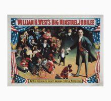 Performing Arts Posters William H Wests Big Minstrel Jubilee 1777 Kids Tee