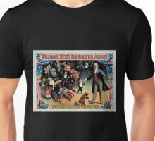 Performing Arts Posters William H Wests Big Minstrel Jubilee 1777 Unisex T-Shirt