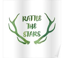 Rattle the Stars watercolor Poster