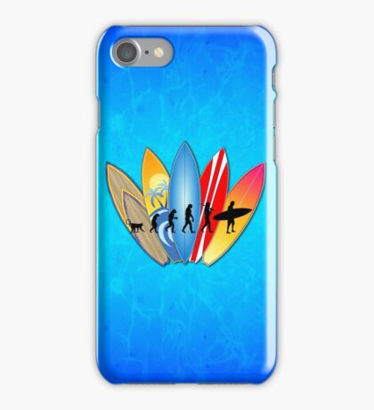 Surfing Evolution iPhone Case/Skin