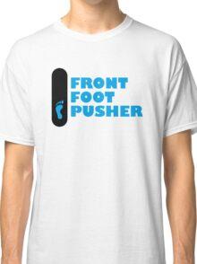 Skateboard Mongo Front Foot Pusher (goofy - left footprint) Classic T-Shirt