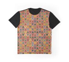 October Double Hearts on Red Graphic T-Shirt