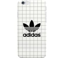 Adidas White Grid iPhone Case/Skin