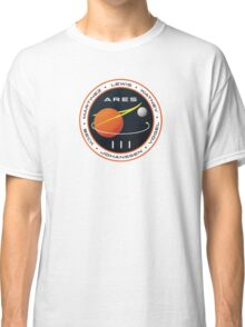 ARES 3 Mission Patch (Clean) - The Martian Classic T-Shirt