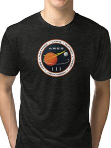 ARES 3 Mission Patch (Clean) - The Martian Tri-blend T-Shirt