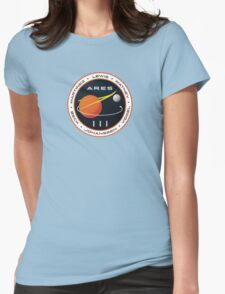 ARES 3 Mission Patch (Clean) - The Martian Womens Fitted T-Shirt