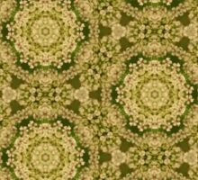 Queen Anne's Lace Pattern Sticker