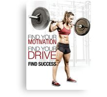 Find Your Motivation, Drive, and Success Canvas Print