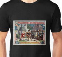 Performing Arts Posters William H Wests Big Minstrel Jubilee 1776 Unisex T-Shirt