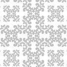 Silver Damask Pattern by Toby Davis