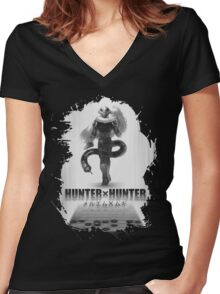 Hunter x Hunter- Meruem Women's Fitted V-Neck T-Shirt