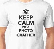 Keep calm I'm a Photographer Unisex T-Shirt