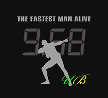 UB Usain Bolt The Fastest Man Alive 9.58 sec Unisex T-Shirt