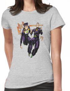 Josuke x Okuyasu - Jojo's Bizarre Adventure Womens Fitted T-Shirt