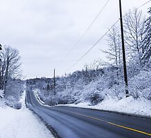 Winter Road 2 by John Velocci