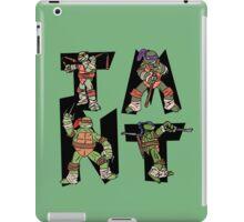 Teenage Mutant Ninja Turtles TMNT Letterforms iPad Case/Skin