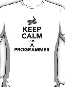Keep calm I'm a Programmer T-Shirt