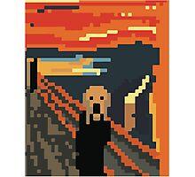Pixel Art  Photographic Print