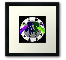 Squid Sisters Subs P and G Version Framed Print