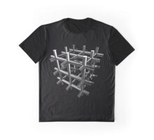 3d Cube design Graphic T-Shirt