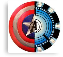 Avengers Shield Canvas Print