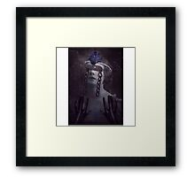 Clear and Present Framed Print