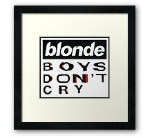Blond(e)  Framed Print