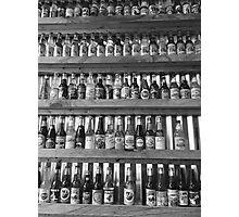 Soda Pop Shop Noir Photographic Print