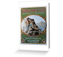 Winchester Greeting Card