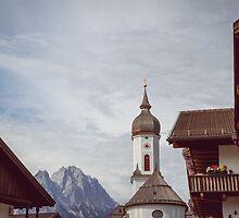 Garmisch Skyline by Bethany Helzer