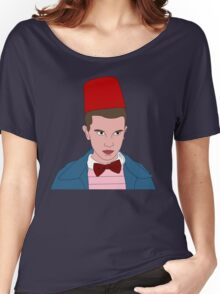 Stranger Things Eleven 11th Doctor Women's Relaxed Fit T-Shirt