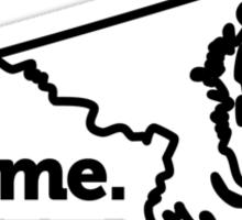 Maryland. Home. Sticker
