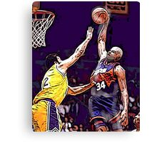 Old School NBA - Charles Canvas Print
