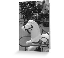 Les petits chevaux Greeting Card