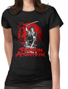 LONEWOLF AND CUB AKA SHOGUN ASSASSIN SHINTARO KATSU JAPANESE RETRO SAMURAI MOVIE  Womens Fitted T-Shirt