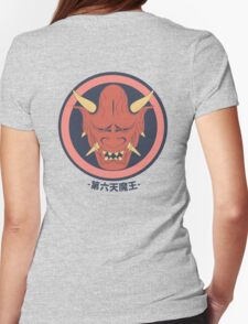 Demon King in Red Womens Fitted T-Shirt