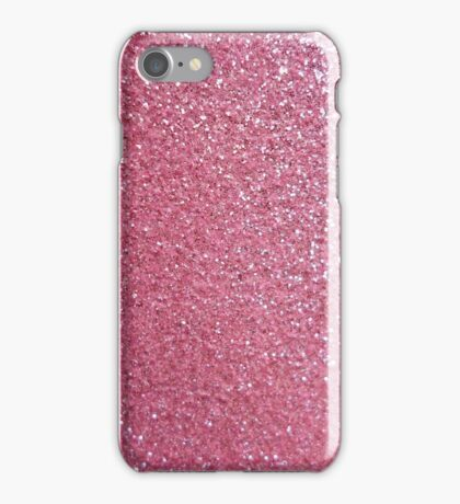 Glitter pink iPhone Case/Skin
