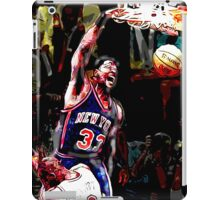 Old School NBA - Ewing iPad Case/Skin