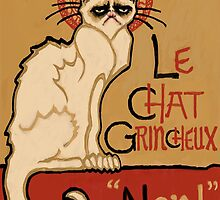 Le Chat Grincheux by SlideRulesYou