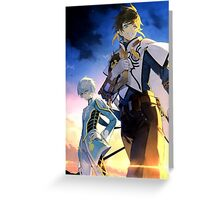 Tales of Zestiria the Cross  Greeting Card