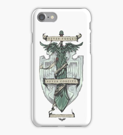 Dark Angels - Never forget, Never forgive iPhone Case/Skin