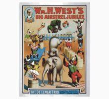 Performing Arts Posters Wm H Wests Big Minstrel Jubilee 1791 One Piece - Long Sleeve