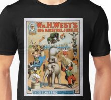 Performing Arts Posters Wm H Wests Big Minstrel Jubilee 1791 Unisex T-Shirt